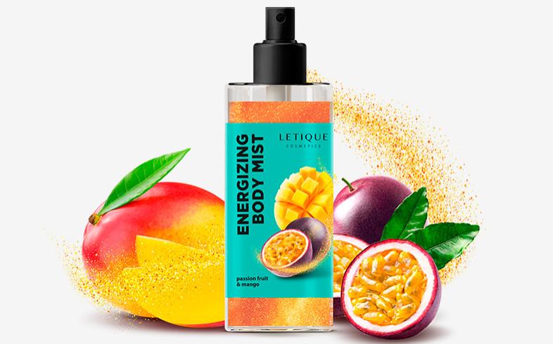 Спрей для тела манго-маракуйя Energizing Body Mist